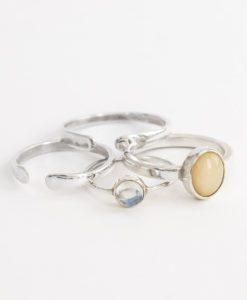 Готовые серебряные кольца